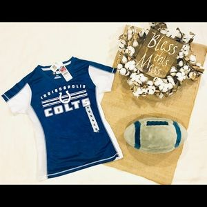 NWT Women's Colts Jersey style T-shirt size S